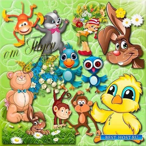 Зверушки картинки для детей   подборка 022