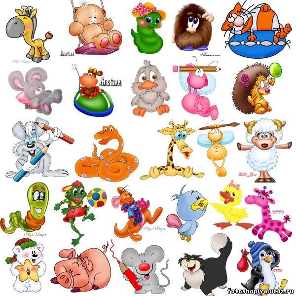 Зверушки картинки для детей   подборка 024