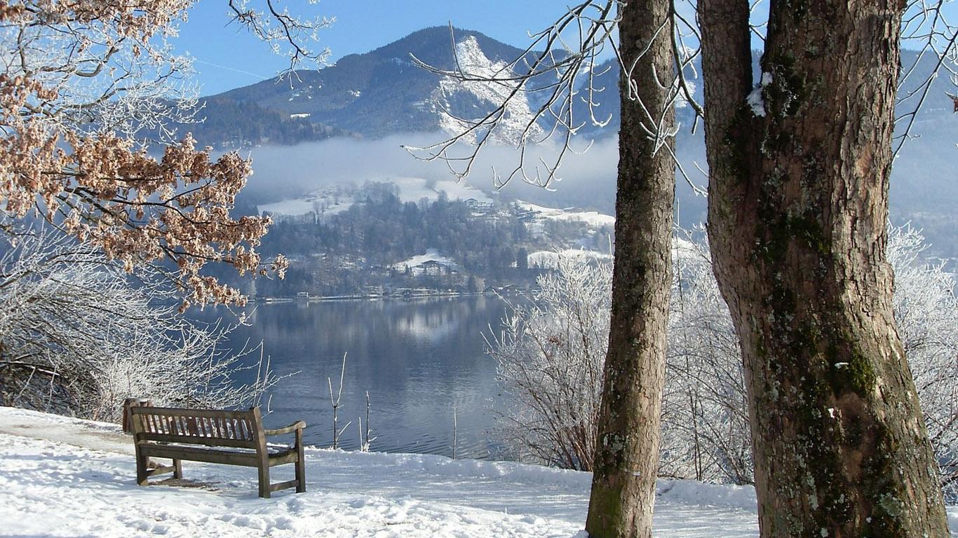 Зима в городе   обои для рабочего стола (13)