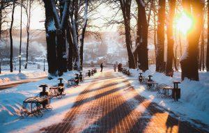 Зима в городе   обои для рабочего стола (27)