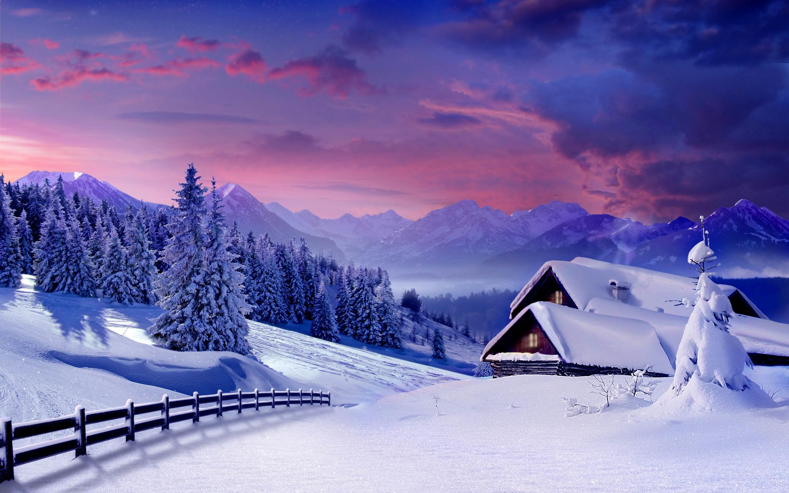 Зима обои на рабочий стол   лучшие фото (10)