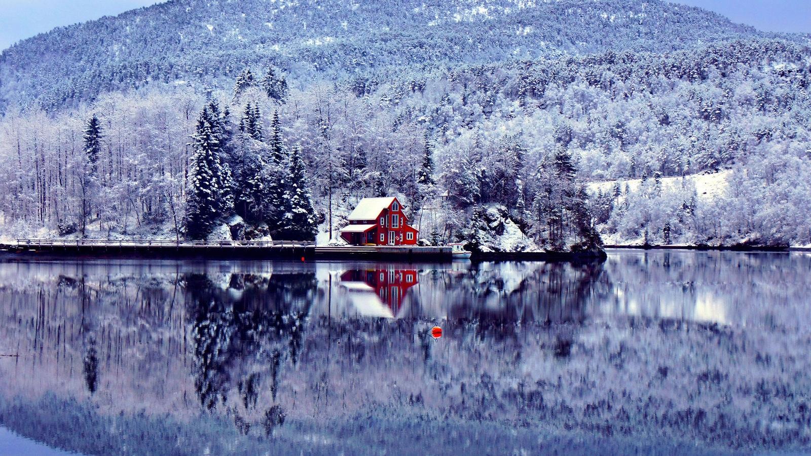 Зима обои на рабочий стол   лучшие фото (3)