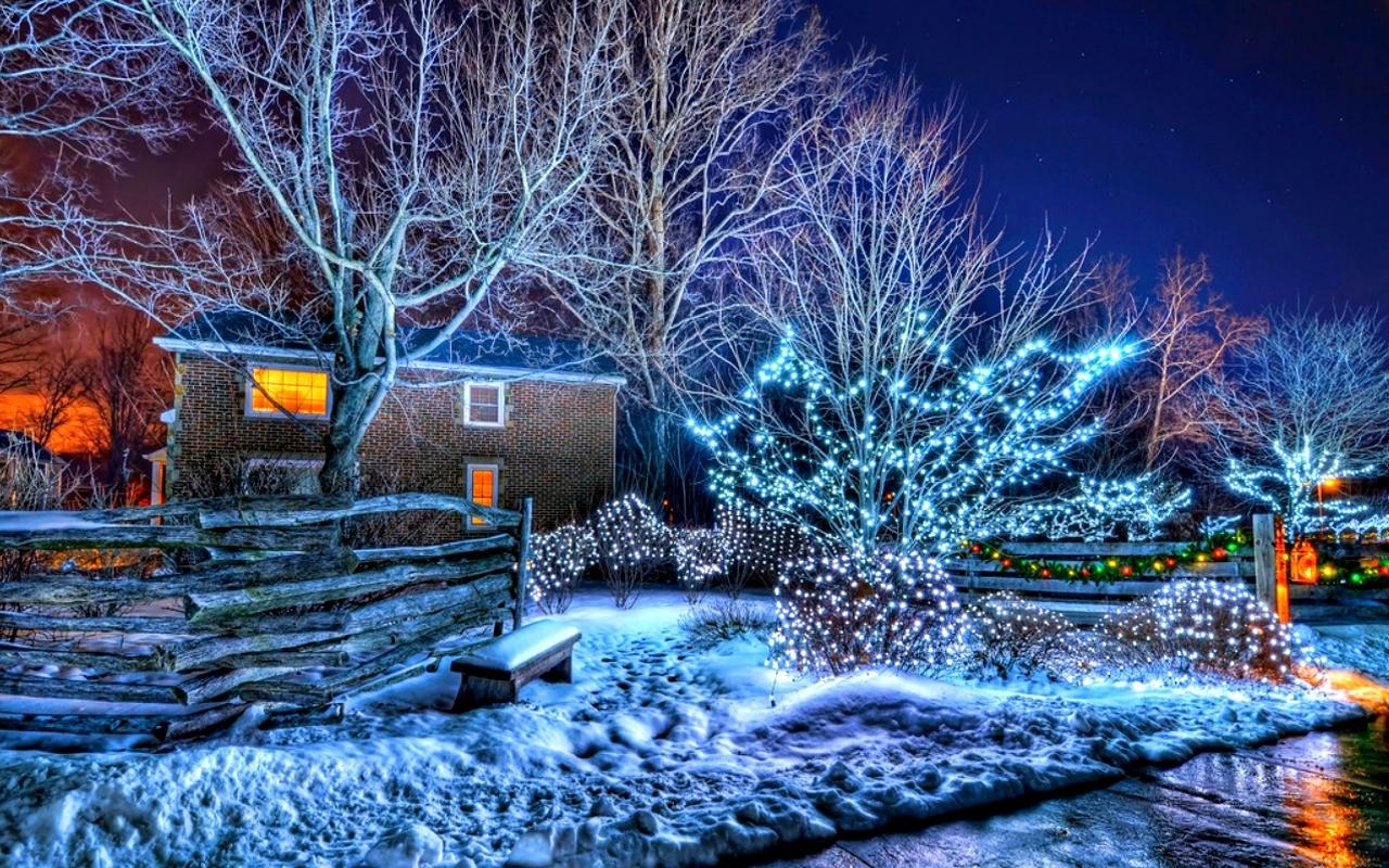 Зима обои на рабочий стол   лучшие фото (8)