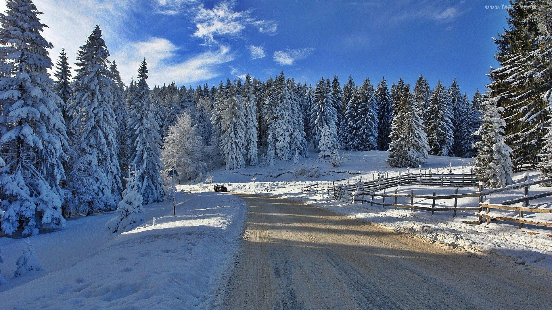 смотреть картинки зимы на рабочий стол