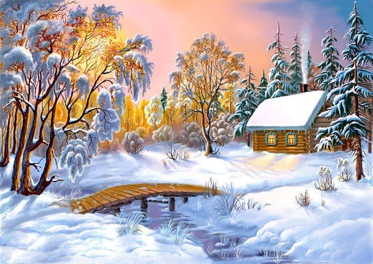 Зимняя сказка картинки красивые и интересные002