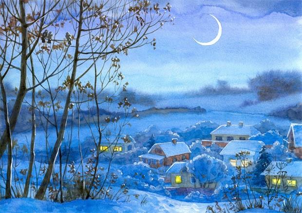 Зимняя сказка картинки красивые и интересные003
