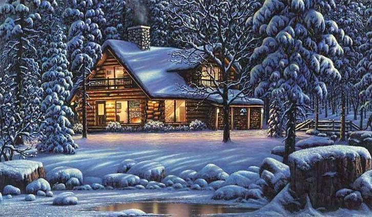 Зимняя сказка картинки красивые и интересные005