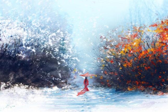 Зимняя сказка картинки красивые и интересные010