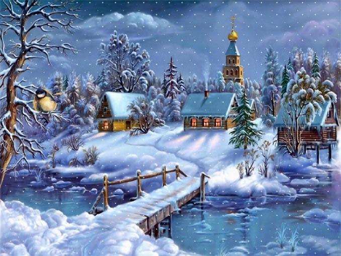 Зимняя сказка картинки красивые и интересные011