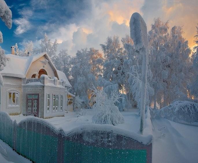 Зимняя сказка картинки красивые и интересные012