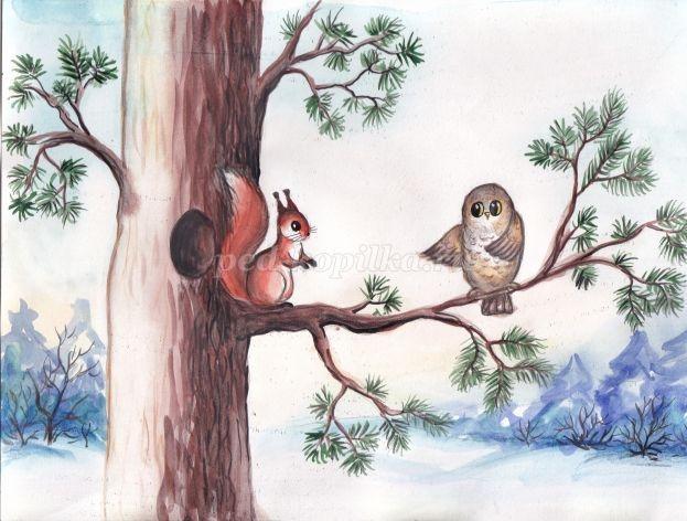 Зимняя сказка картинки красивые и интересные013