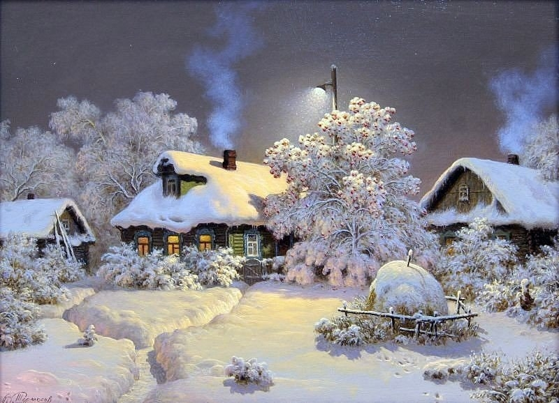 Зимняя сказка картинки красивые и интересные015