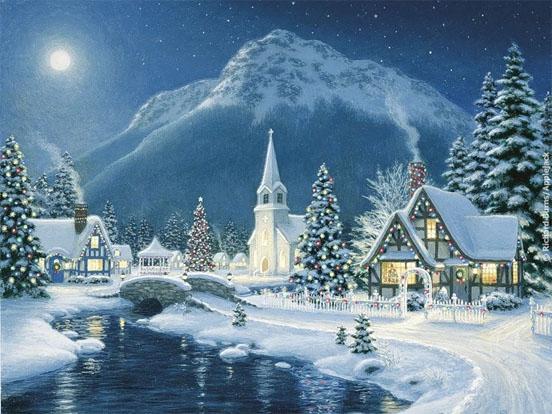 Зимняя сказка картинки красивые и интересные020