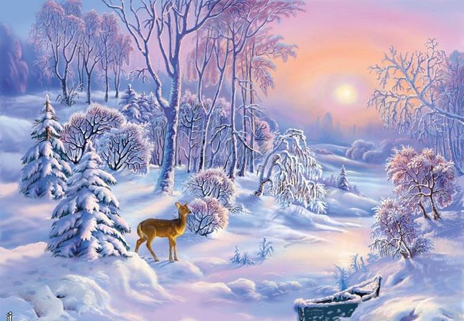 Зимняя сказка картинки красивые и интересные021