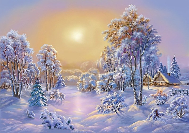 Зимняя сказка картинки красивые и интересные022