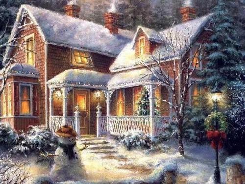 Зимняя сказка картинки красивые и интересные024