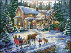 Зимняя сказка картинки красивые и интересные026