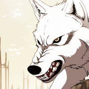 Злые волки аниме картинки023