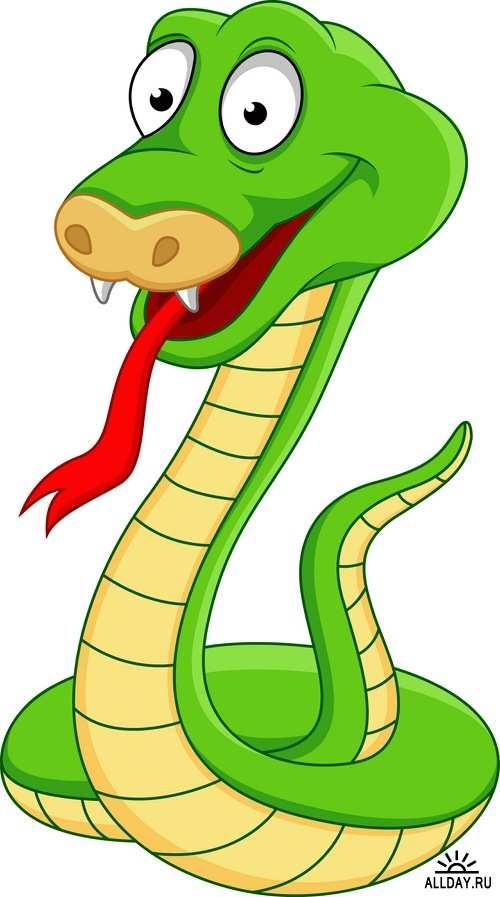 Картинки со змейками для детей