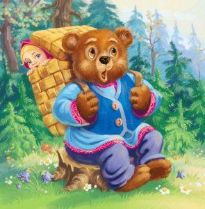 Иллюстрации маша и медведь   картинки 023