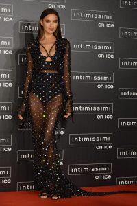 Ирина Шейк в платье   красивые фото 027