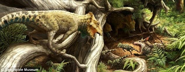 Какие были раньше динозавры   картинки 001
