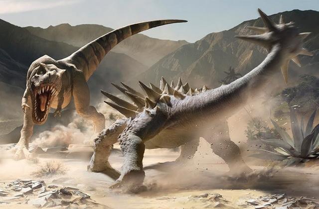 Какие были раньше динозавры   картинки 012