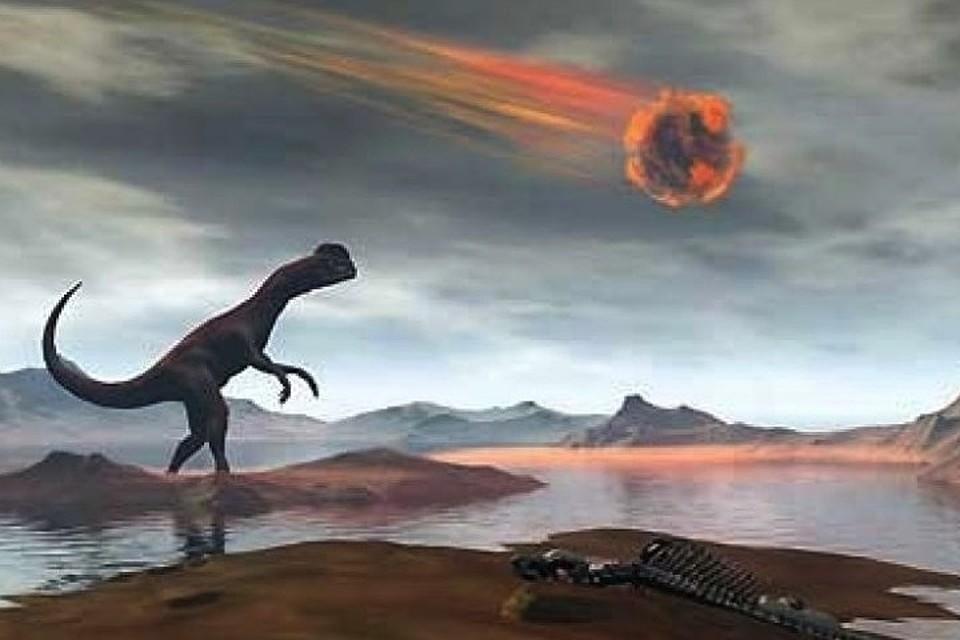 динозавры и метеорит картинки полюбился телезрителям прекрасное