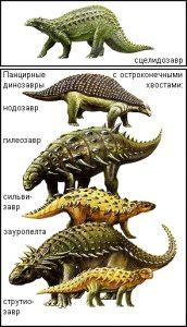 Какие были раньше динозавры   картинки 027