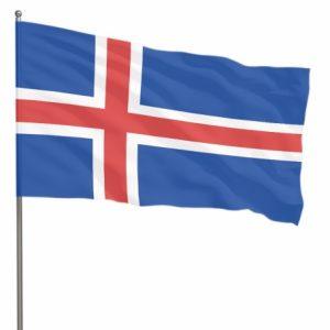 Как выглядит флаг Исландии фото 026