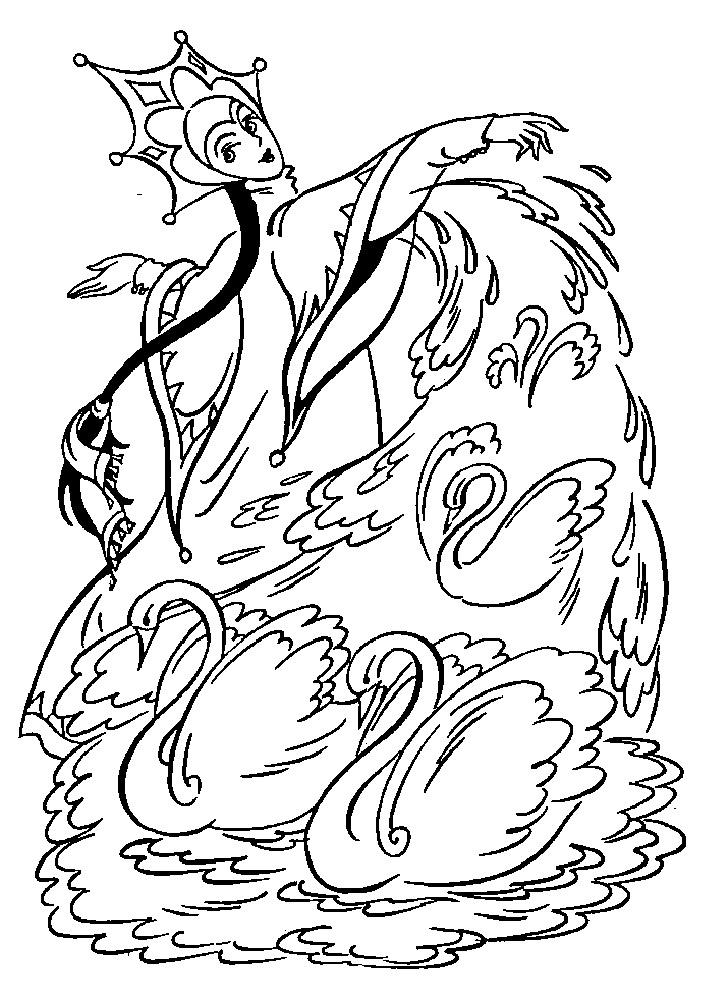 Как нарисовать Ивана Царевича и Лягушку Царевну   рисунки (26)