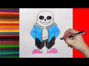 Как нарисовать Фриск из undertale карандашом поэтапно   арты (19)