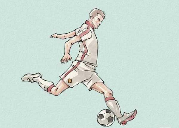 Как нарисовать футбольное поле с игроками ребенку   подборка 002
