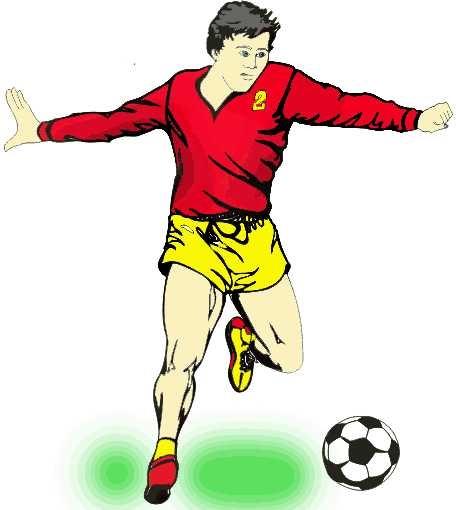 Как нарисовать футбольное поле с игроками ребенку   подборка 003