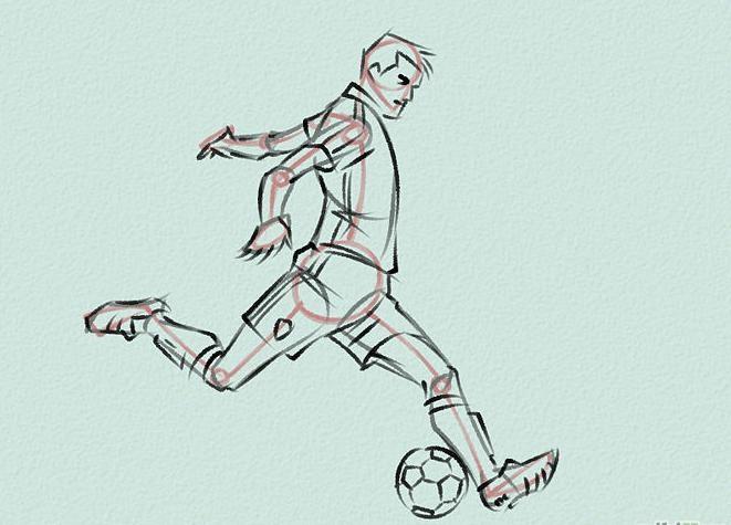 Как нарисовать футбольное поле с игроками ребенку   подборка 006