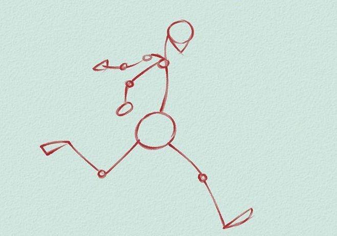 Как нарисовать футбольное поле с игроками ребенку   подборка 008