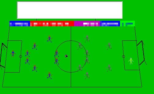 Как нарисовать футбольное поле с игроками ребенку   подборка 012