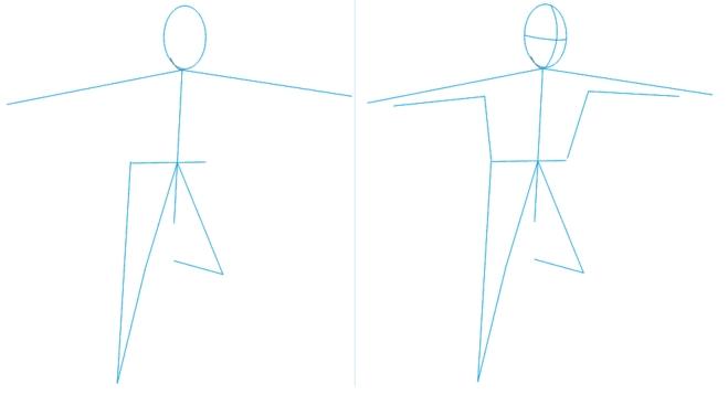 Как нарисовать футбольное поле с игроками ребенку   подборка 014