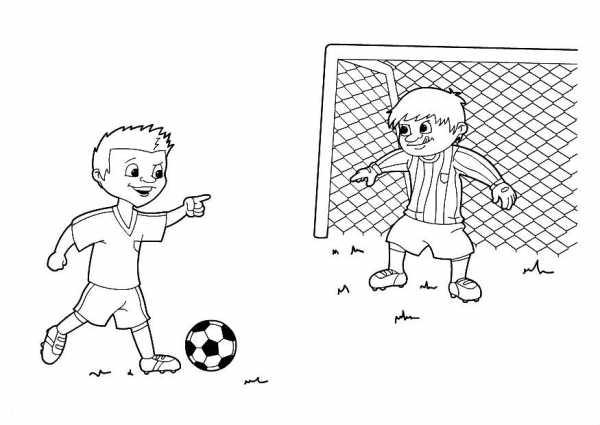 Как нарисовать футбольное поле с игроками ребенку   подборка 019