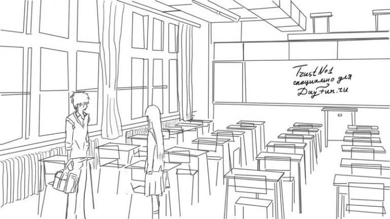 основном рисунок в столовой рисовать тривиальная задача, мучаюсь