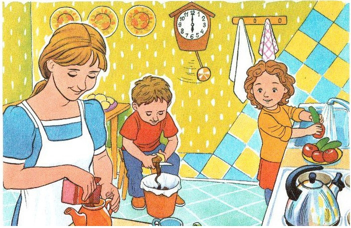 Картинка Как я помогаю маме по дому   сборка (12)