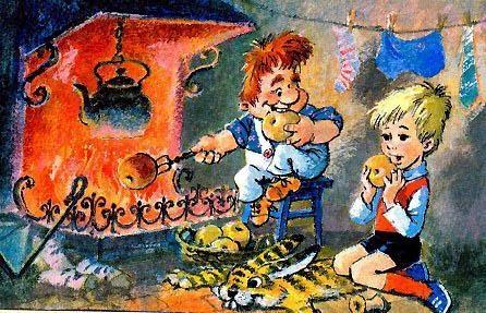 Картинка Карлсона и Малыша   очень красивые009