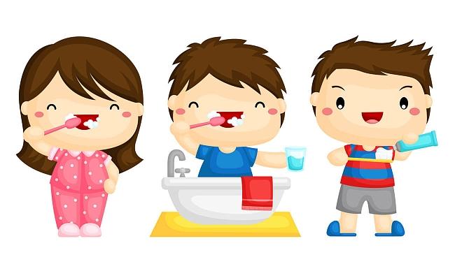Картинка для детей чистить зубы   фото 002