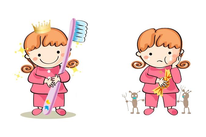 Картинка для детей чистить зубы   фото 024