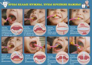Картинка для детей чистить зубы   фото 026