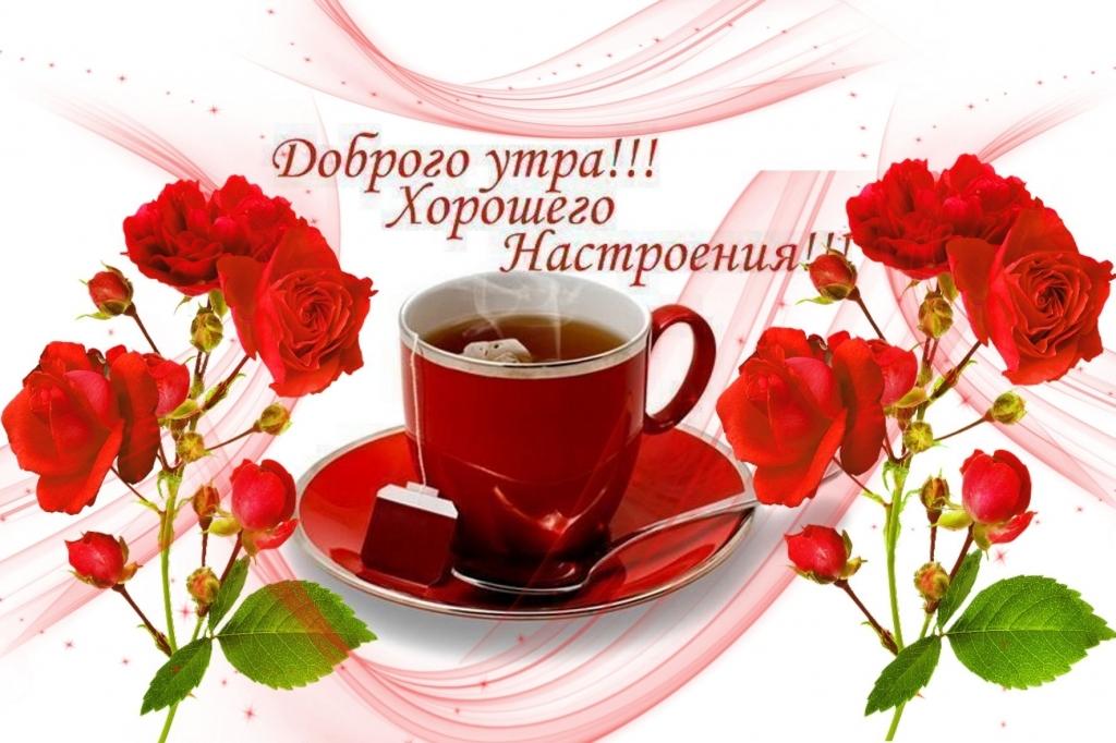 Картинка доброго утра и хорошего дня 018