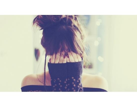 Картинка лицо девушки с волосами на аву 012