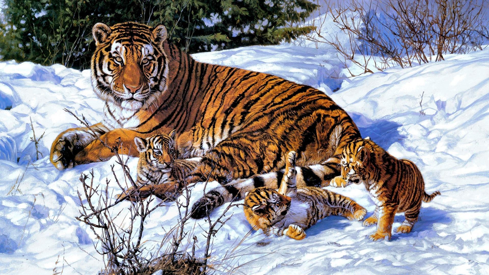 Картинка на рабочий стол тигр (2)