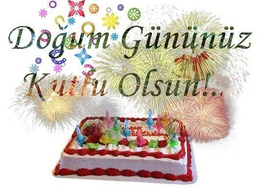 Открытка поздравления на турецком языке, дню