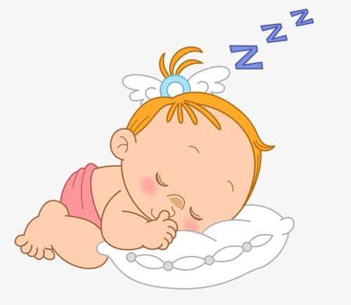 Картинка ребенок спит для детей 003
